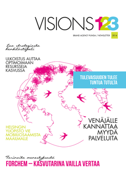 Brand Agency Punda Visions123 2014 - magazine