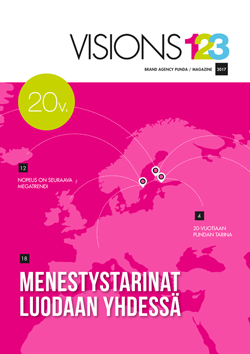 Brand Agency Punda Visions123 2017 - magazine